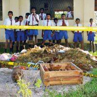 Sri lanka_Minen vor Schulkindern